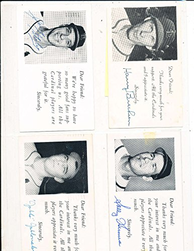 solly-humus-st-louis-cardinals-signed-1954-team-issue-post-card
