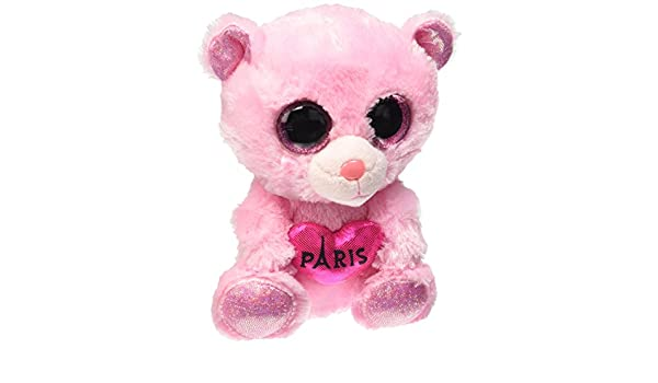 Amazon.com: Ty Beanie Boos Paris Multi-Colored 6