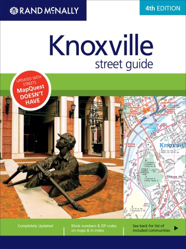 Rand McNally Knoxville Street Guide