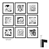 GALLERY PERFECT 9 Piece Photo Frame Wall Gallery Kit