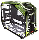 InWin D-Frame 2.0 BK/GR  Green/Black Motorcycle Steel Tube ATX Full Tower Case includes SII-1065W Power supply Cases D-Frame 2.0