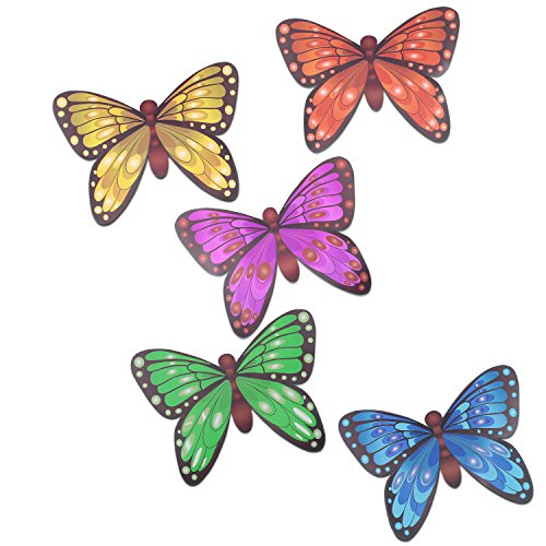 car magnets Butterfly Power set of Five