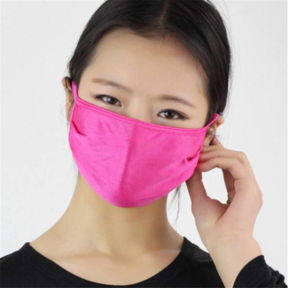 MKDASFD Mascaras Máscara de Verano de Seda Fina Protector Solar Seda de Morera Tejido Doble Transpirable Máscara fácil de Respirar y Lavable