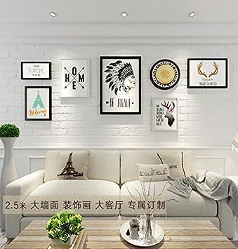 Ein Einfaches Foto Wand Dekoration Wohnzimmer Wand Ventilator Wand