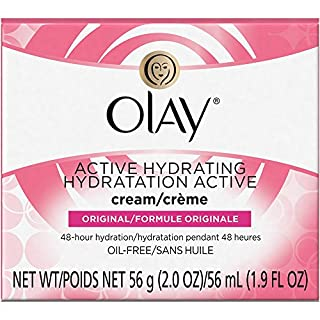 OLAY Active Hydrating Cream Original 2 oz (Pack of 4)
