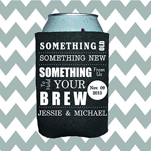 Personalized Wedding Can Insulator - Something From Us