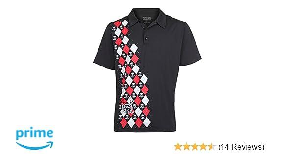 0abe0bf1 Amazon.com: Tattoo Golf Men's Monster Performance Polo: Clothing