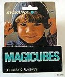 Sylvania Blue Dot MAGICUBES MAGICUBES For X-Pattern Camera Mount Sockets 3 Cubes / 12 Flashes