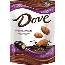 Dove Dark Chocolate Covered Almond Candy Pouch, 5.5 Ounce