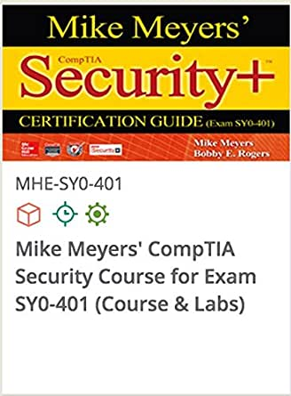 Amazon Com Mike Meyers Comptia Security Course For Exam