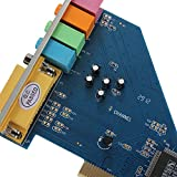 QWERTOUY 4 Channel 8738 Chip 3D Audio Stereo PCI