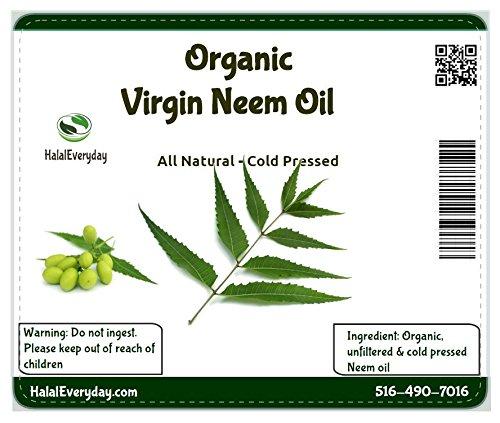 (Neem oil 100% pure cold pressed - 16 oz)