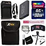 Best Sony High Speed Memory Cards - PRO 32GB Accessories KIT for SONY Cyber-Shot DSC-WX500 Review