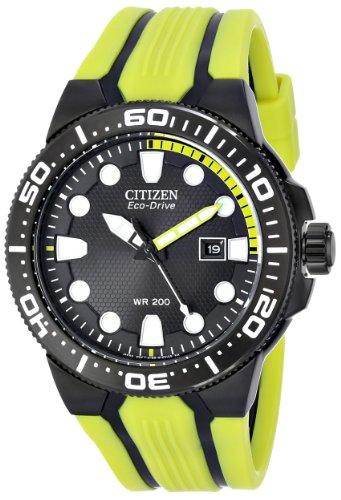 Citizen BN0095 16E Eco Drive Scuba Yellow