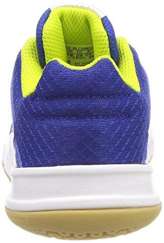 adidas Unisex-Kinder FortaGym K Turnschuhe Mehrfarbig (Collegiate Royal/semi Solar Yellow/ftwr White)