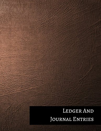 Ledger And Journal Entries: Two Columnar Format