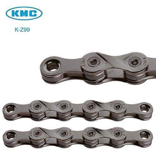 KMC Z99 - Cadena para bicicleta (9 velocidades, 116 eslabones + botón mágico, compatible con Shimano SRAM Campagnolo)