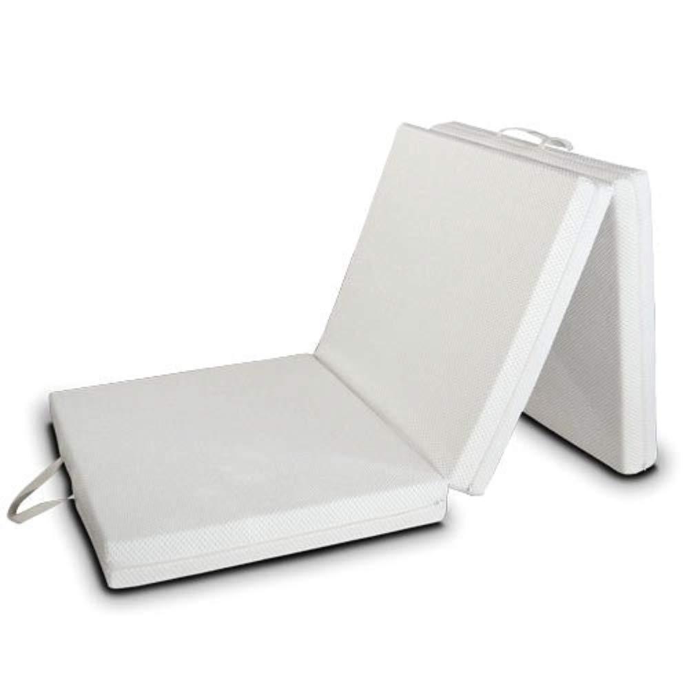 EvergreenWeb Futon EASY colchón, plegable, ahorro de espacio, plaza individual (97x200)