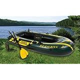 Intex Seahawk Inflatable Boat Set - 2 Person