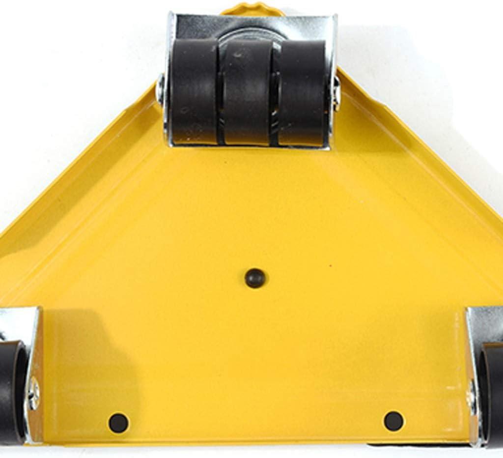 Color : Yellow Feiqiang Mover motor herramienta for refrigerador lavadora muebles de piano art/ículos m/ás pesados de manejo de carga pesada 17.9x23cm