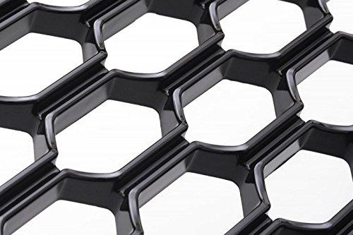 /Honeycomb Radiator Grille without Emblem Black 1122074/