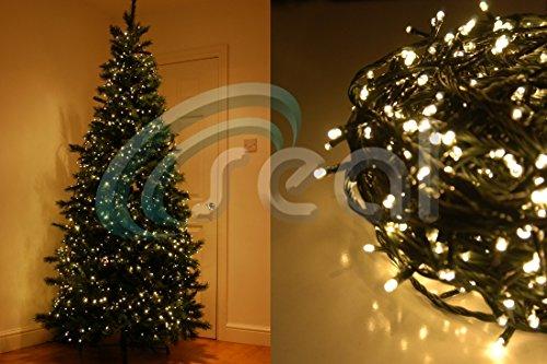 1000 LED Christmas Tree Fairy Lights Multi Function - WARM WHITE ...
