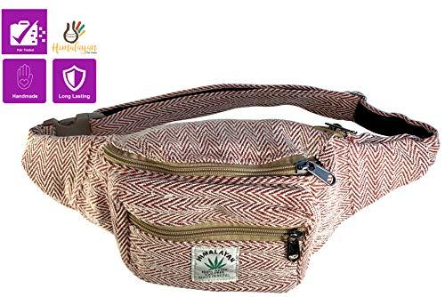 - Handmade Hemp Fanny Pack Festival Bum Bags Travel Hiking Hip Bum Waist Bag