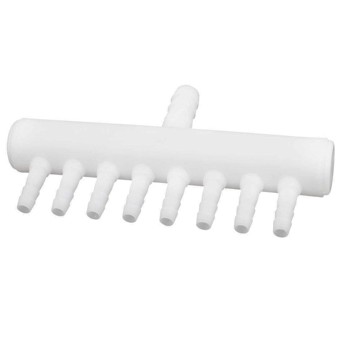 TOOGOO Vanne d'air en plastique a 8-voie pour le tube d'aquarium Soupape d'air