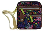Lily Bloom Gigi Cross Body Messenger Bag (RAKING IT IN)