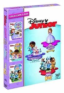 Pack: La Princesa Sofía: Lista Para Ser Princesa + La Doctora Juguetes: Te Toca Un Chequeo + La Casa De Mickey Mouse: Minnie. El Mago De Dizz [DVD]