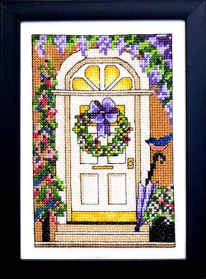 Welcome Spring Cross Stitch Chart