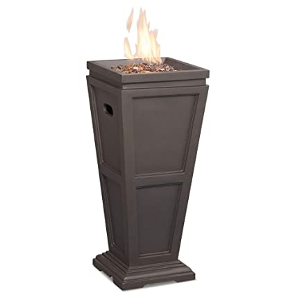 Amazon.com: Uniflame Endless Summer GLT1332SP - Chimenea de ...