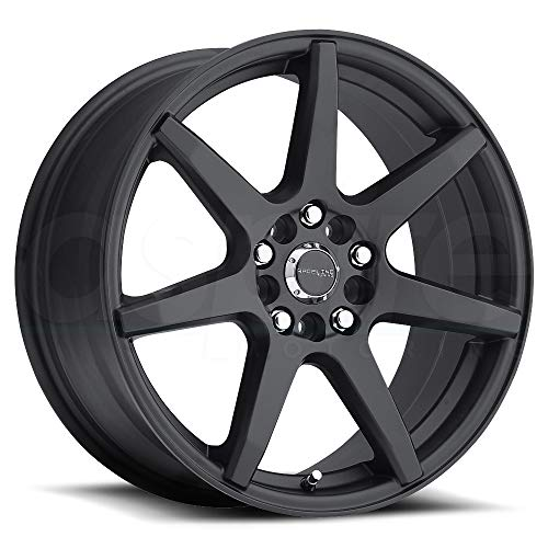 Raceline 131B-EVO Matte Black Wheel with Painted Finish (15 x 7. inches /5 x 100 mm, 40 mm Offset)
