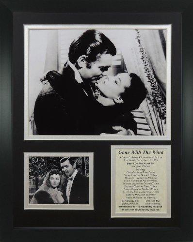 """Legenden Sterben Nie """"Gone With The Wind Kiss"""" gerahmtes Foto Collage, 11 x 35,6 cm von Legends Never Die"""
