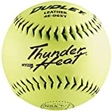 Dudley 12'' Thunder Heat NSA Leather Slowpitch Softball (DZ)