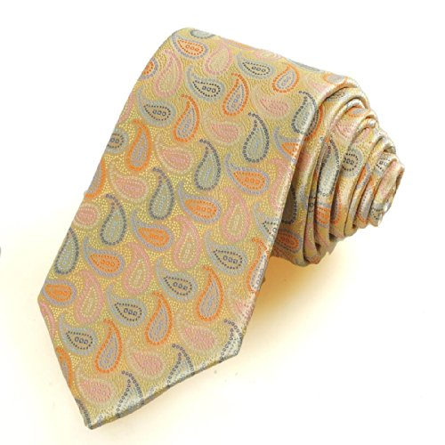 top Geometric foliage flower male tie save more