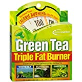 Applied Nutrition Green Tea Maximum Strength Triple Fat Burner Dietary Supplement Liquid Soft Gels , 30 CT (Pack of 4)