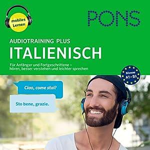 PONS Audiotraining Plus Italienisch Hörbuch