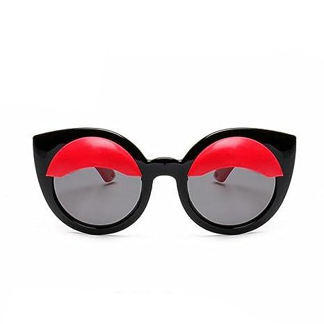 HJXJXJX gafas de sol polarizadas circular niño Gafas de sol ...