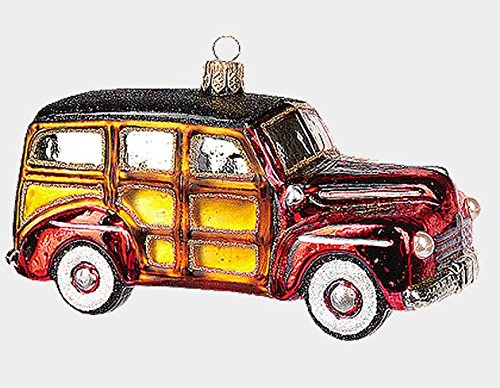 Retro Woody Car Ornament