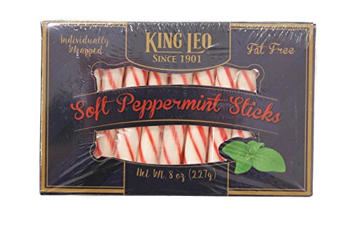 King Leo Peppermint Soft Sticks 8 oz. Box ()