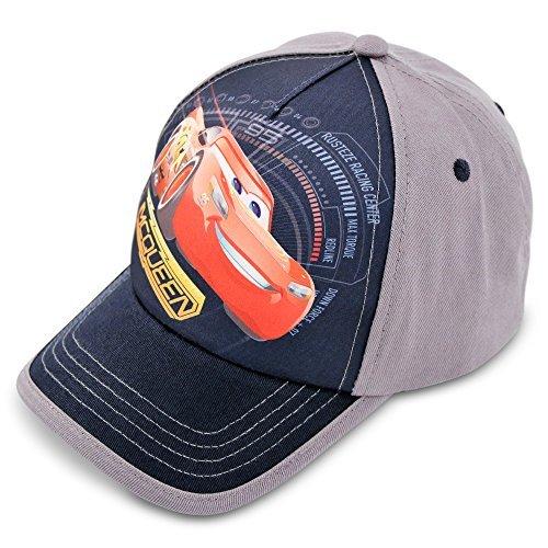 Disney Toddler Boys Cars Lightning McQueen Cotton Baseball Cap, Age (Cars Baseball Cap)