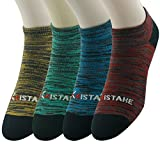 Low Cut No Show Socks, Ristake Unisex Comfy Cool Funky...