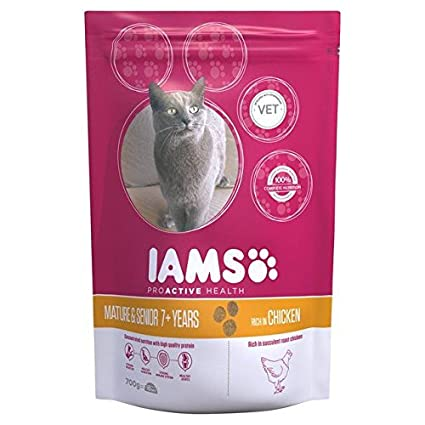 Mature senior dry cat food