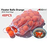 A99 Floating Golf Ball Floater Float Water Range 50pcs, Orange