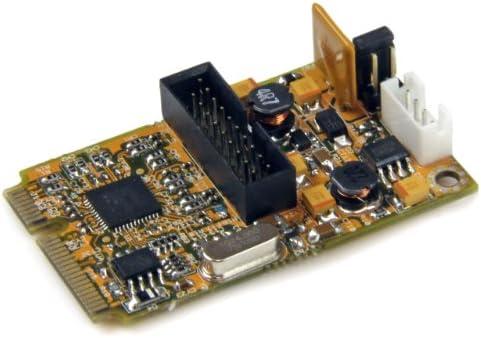 Tarjeta Mini PCI Express PCI-E USB 3.0 de 2 Puertos con UASP StarTech.com MPEXUSB3S22B