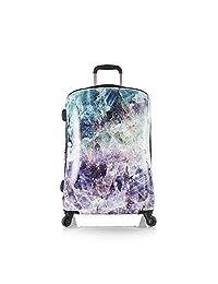 Heys Luggage 30 Inch Spinner Suitcase, Quartz Stone Print