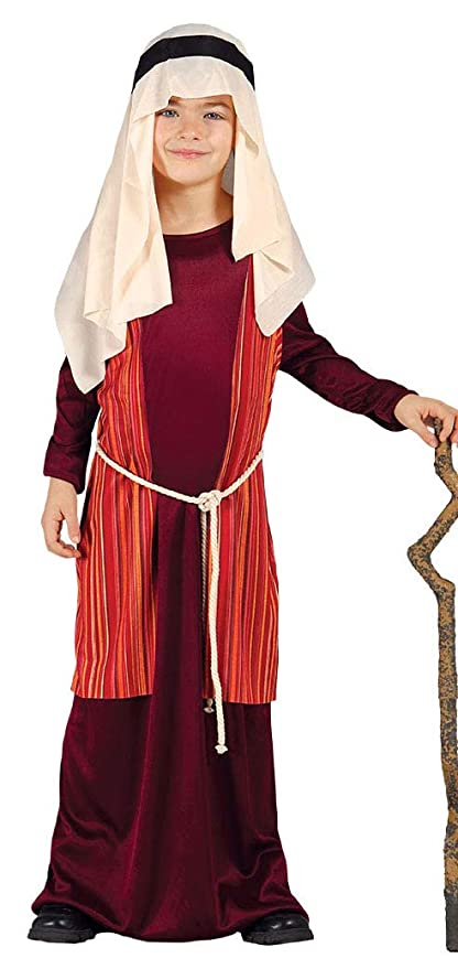 Vivente 7 Giudeo Presepe 9 Arabo Bambino Pastorello Rosso Costume EDeW2YbH9I