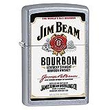 Gifts Infinity® Personalized Jim Beam Bourbon Emblem Street Chrome ZIPPO LIGHTER - Free Engraving