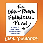 The One-Page Financial Plan: A Simple Way to Be Smart About Your Money | Carl Richards